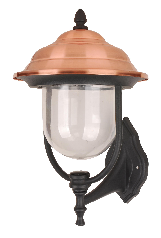 Светильник De fran Tv-799up, уличный, пластик медь+черный