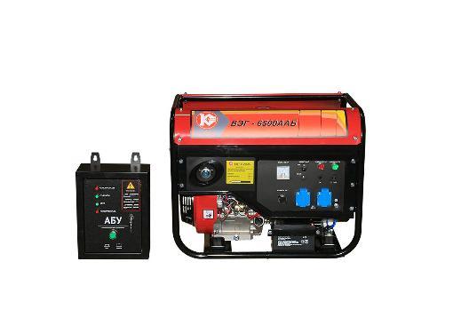 Бензиновый генератор КАЛИБР БЭГ-6500ААБ