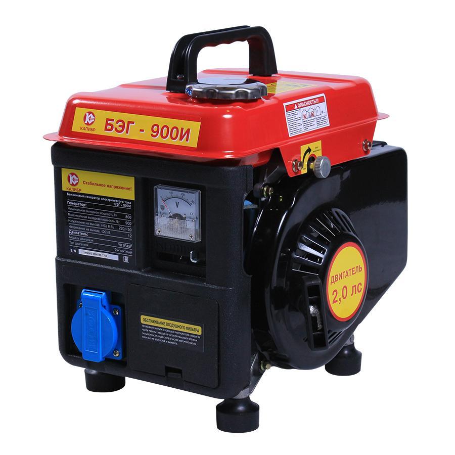 Бензиновый генератор КАЛИБР БЭГ- 900И