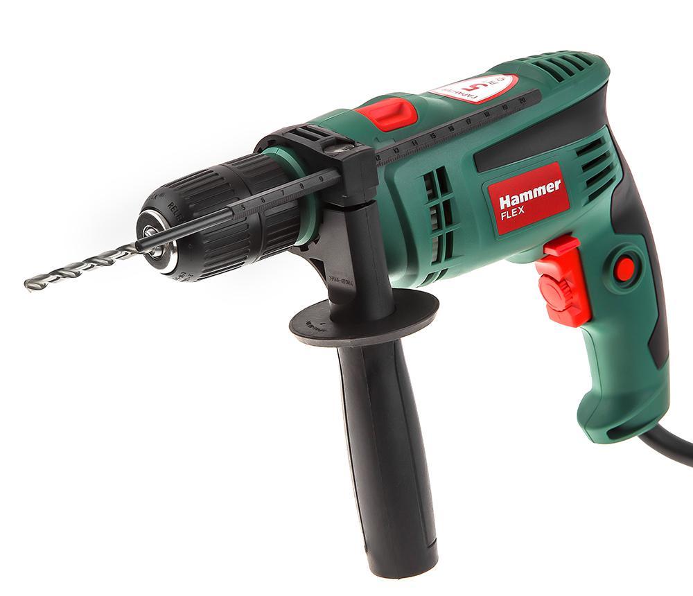 Дрель ударная Hammer Udd780a цены