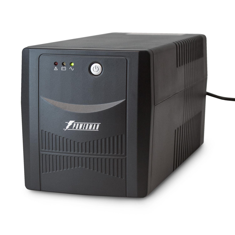 Источник бесперебойного питания Powerman Back pro 1000 источник бесперебойного питания ippon back power pro lcd 600