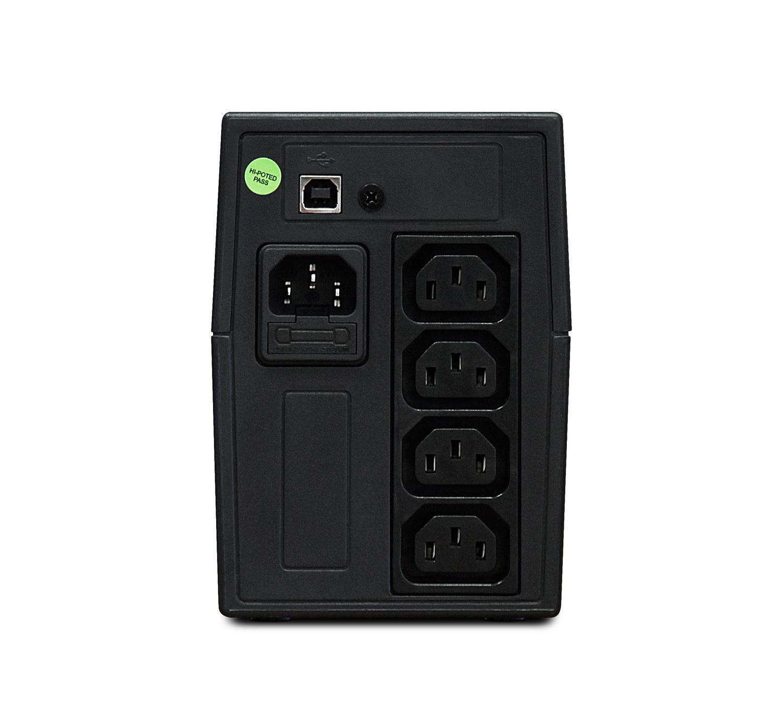 Источник бесперебойного питания Powerman Back pro 800iplus (iec320)