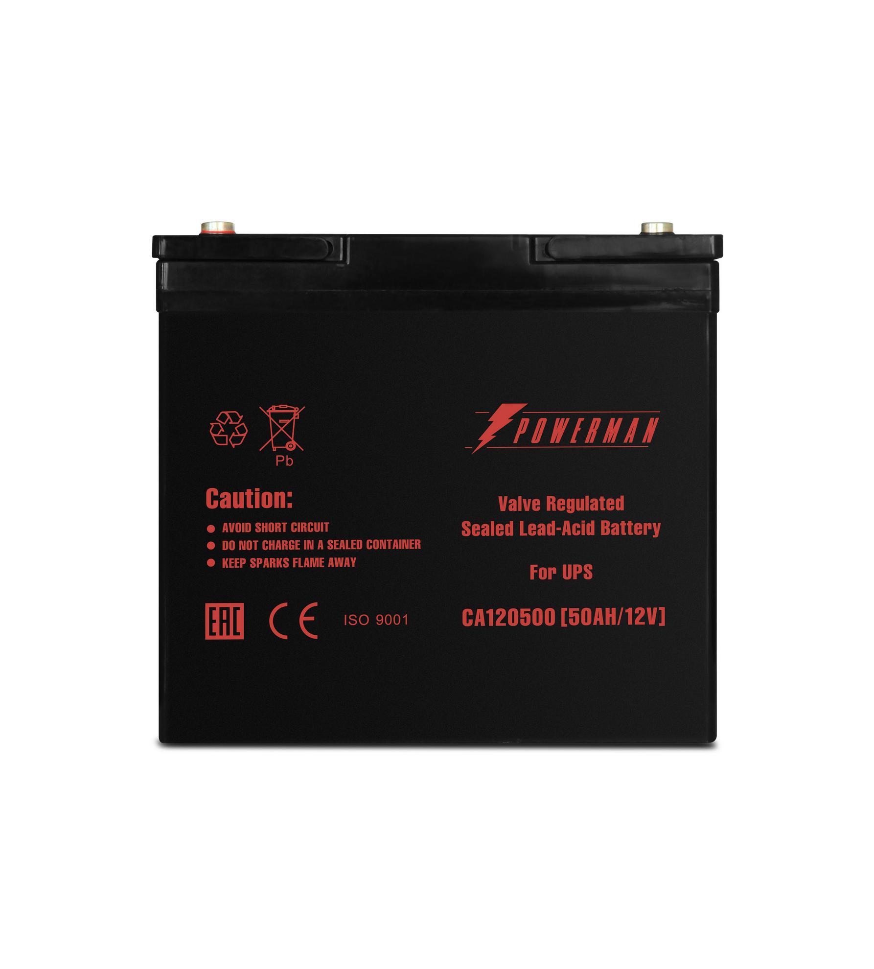 Аккумулятор для ИБП Powerman Ca12500/ups
