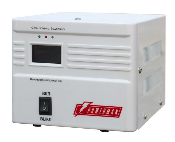 Стабилизатор напряжения Powerman Avs 1000a  - Купить