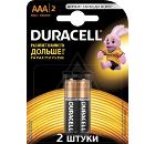 Батарейка DURACELL LR03-2BL BASIC Б0026812