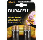 Батарейка DURACELL LR03-4BL BASIC Б0026813