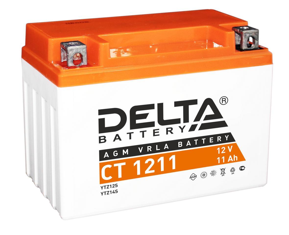 Аккумулятор Delta Ct 1211 delta ct1204 ytx4l bs 12v 4ah agm