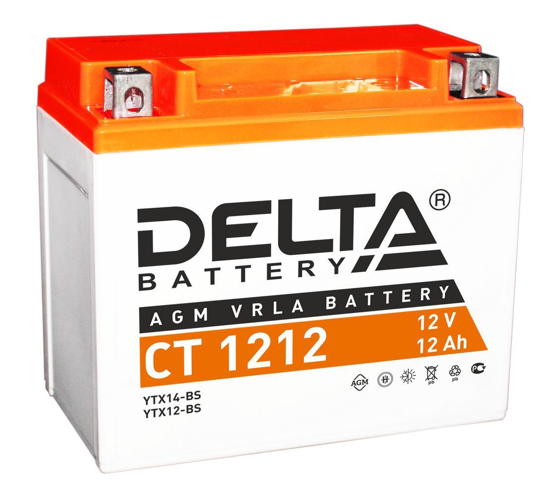 Аккумулятор Delta Ct 1212 delta ct1204 ytx4l bs 12v 4ah agm