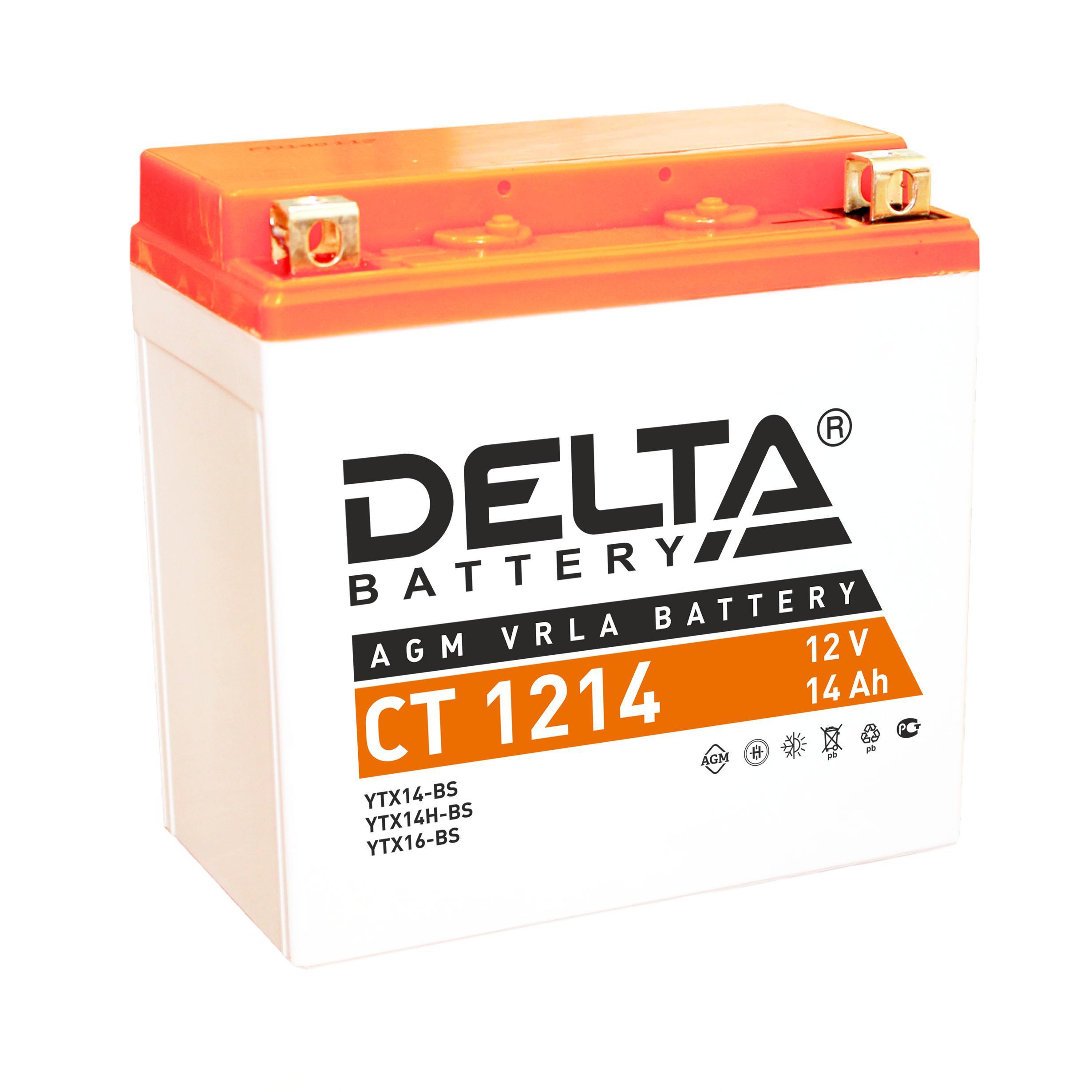 Фото Аккумулятор Delta Ct 1214 аккумулятор
