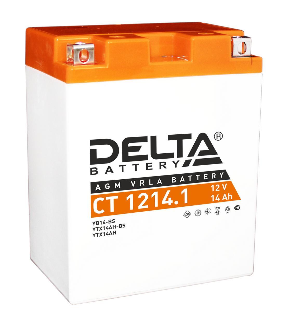 Аккумулятор Delta Ct 1214.1 аккумулятор
