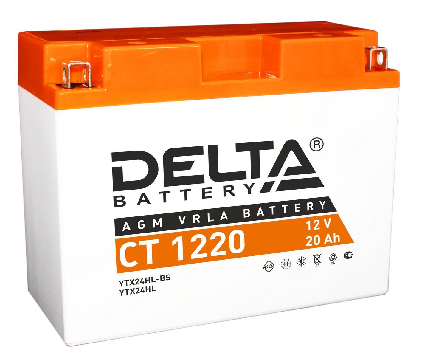 Аккумулятор Delta Ct 1220 аккумулятор