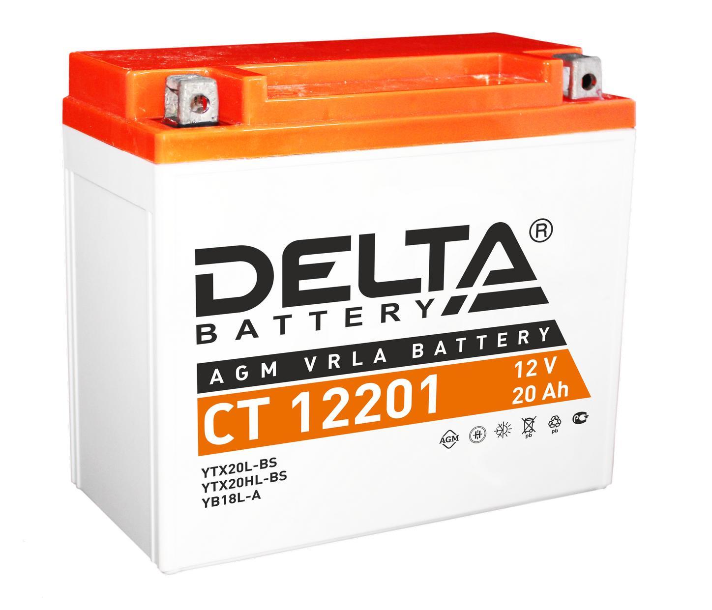 Аккумулятор Delta Ct 12201 delta ct1204 ytx4l bs 12v 4ah agm
