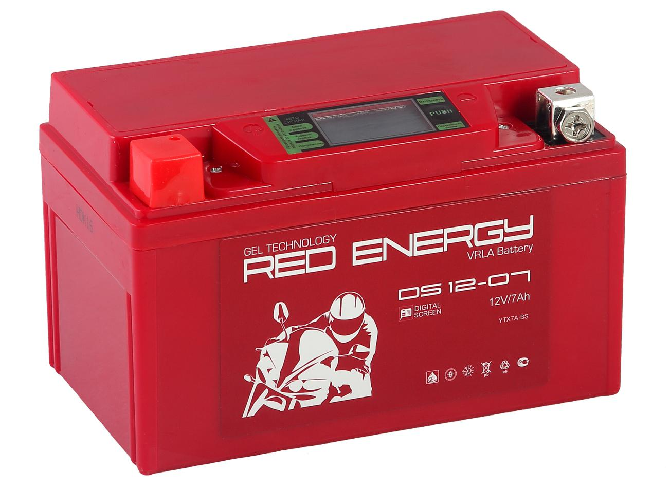 Аккумулятор Red energy Ds 1207 energy