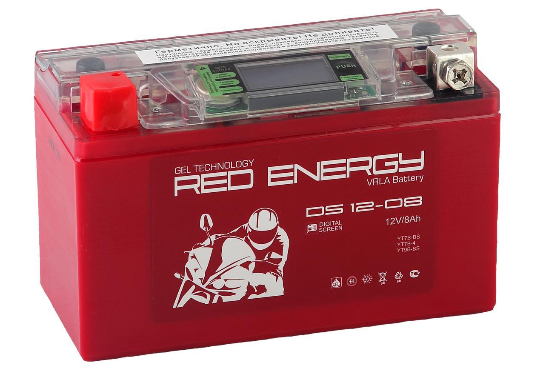 Аккумулятор Red energy Ds 1208 energy