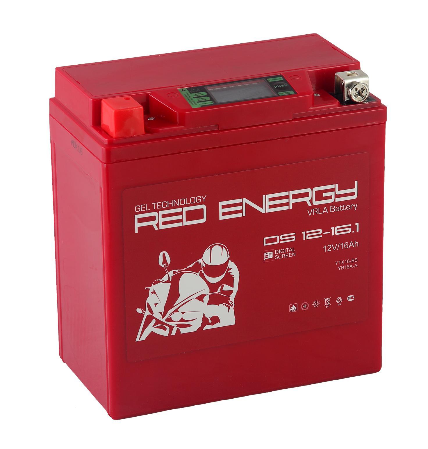 Аккумулятор Red energy Ds 1216.1 аккумулятор