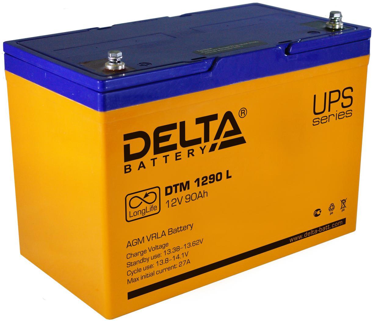 Аккумулятор для ИБП Delta Dtm 1290 l