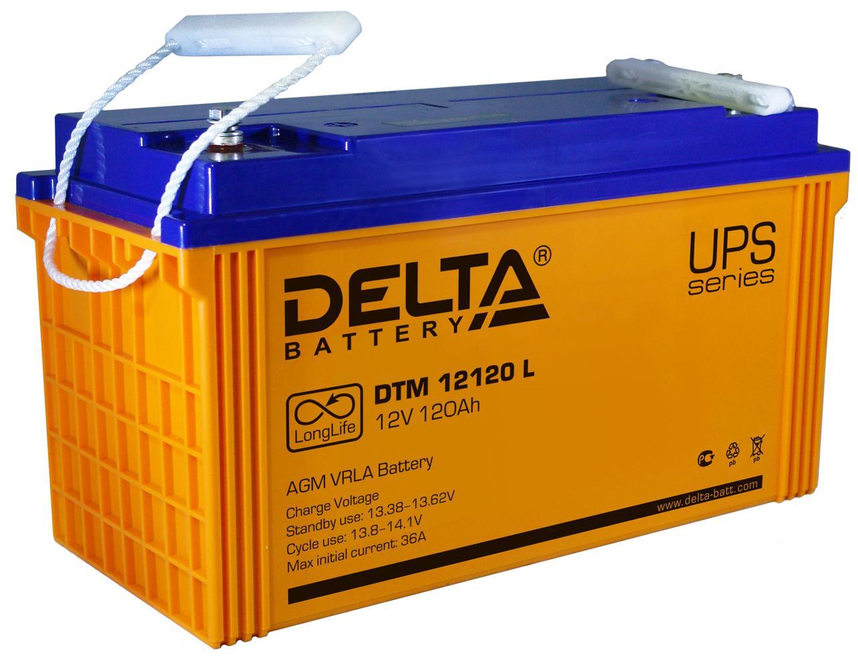 Аккумулятор для ИБП Delta Dtm 12120 l