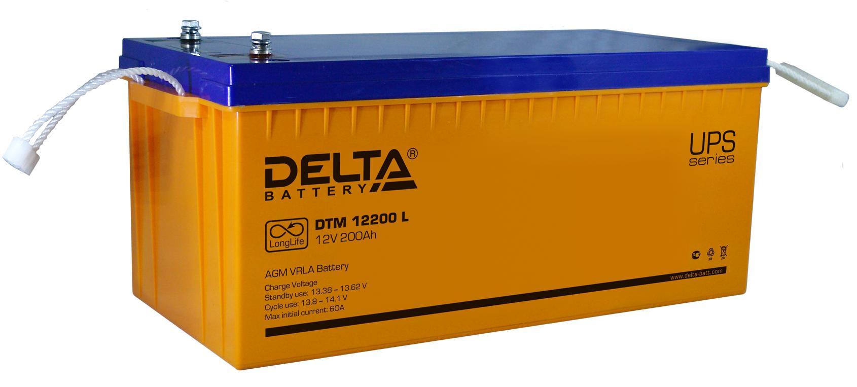 Аккумулятор для ИБП Delta Dtm 12200 l