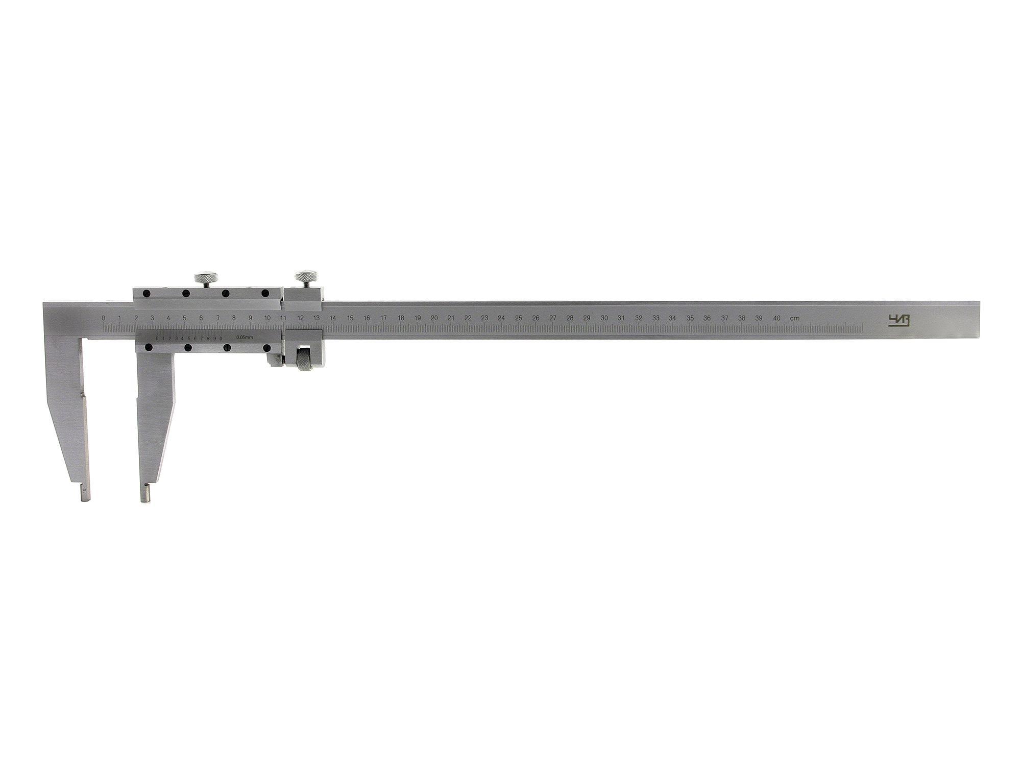 Штангенциркуль ЧИЗ ШЦ-3-1600 0.05 губ.150мм 6 150мм пластиковая линейка раздвижные gauge штангенциркуль ювелирные изделия измерения