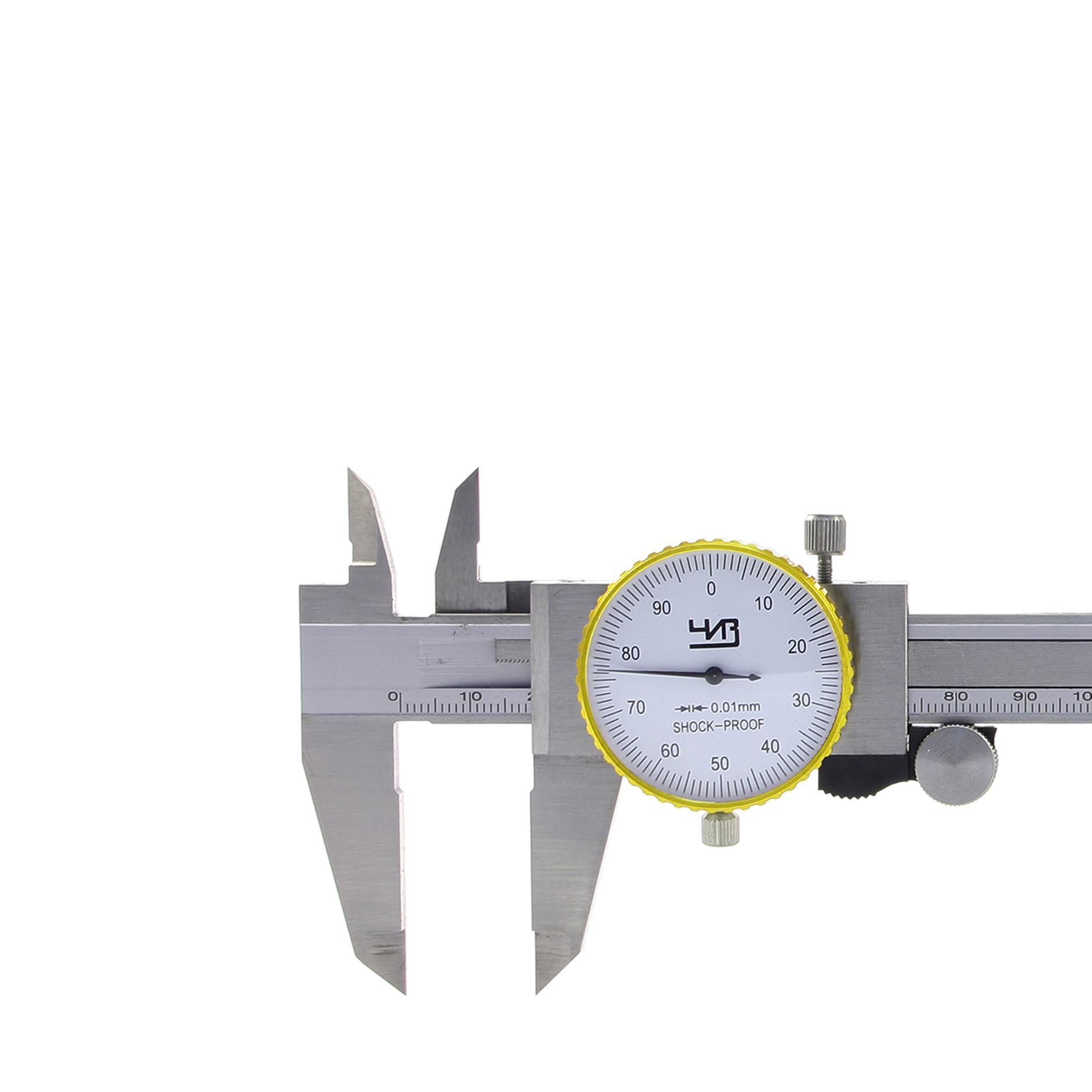 Штангенциркуль ЧИЗ ШЦК-1-125 0.01 недорого