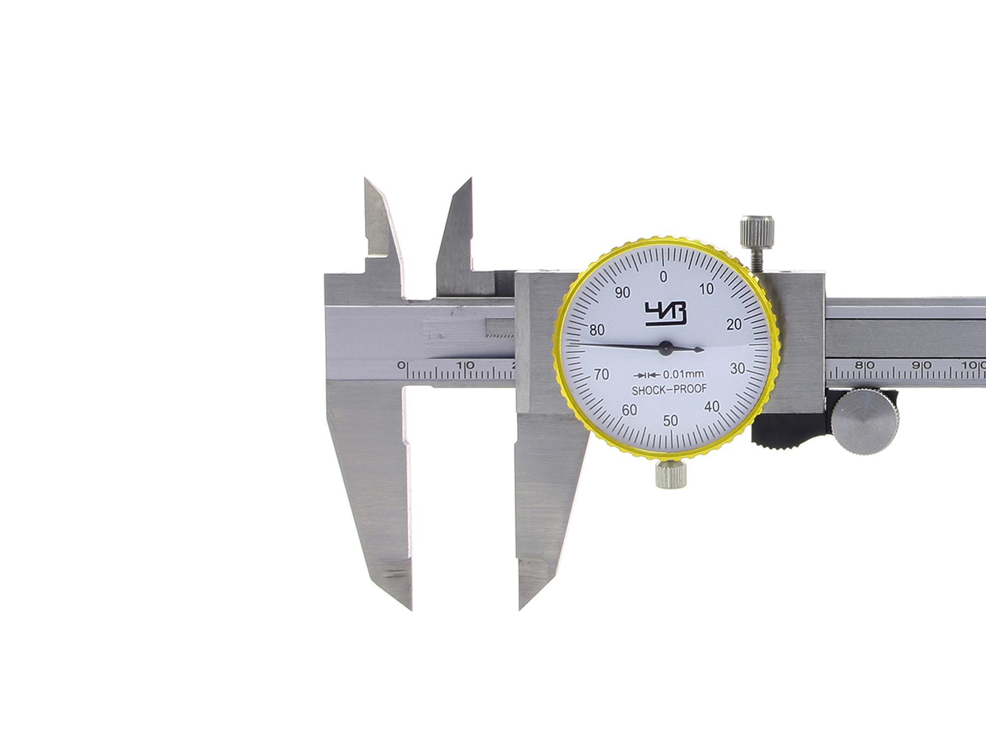 Фото - Штангенциркуль ЧИЗ ШЦК-1-150 0.02 глубиномер микрометр чиз гм 150 0 01