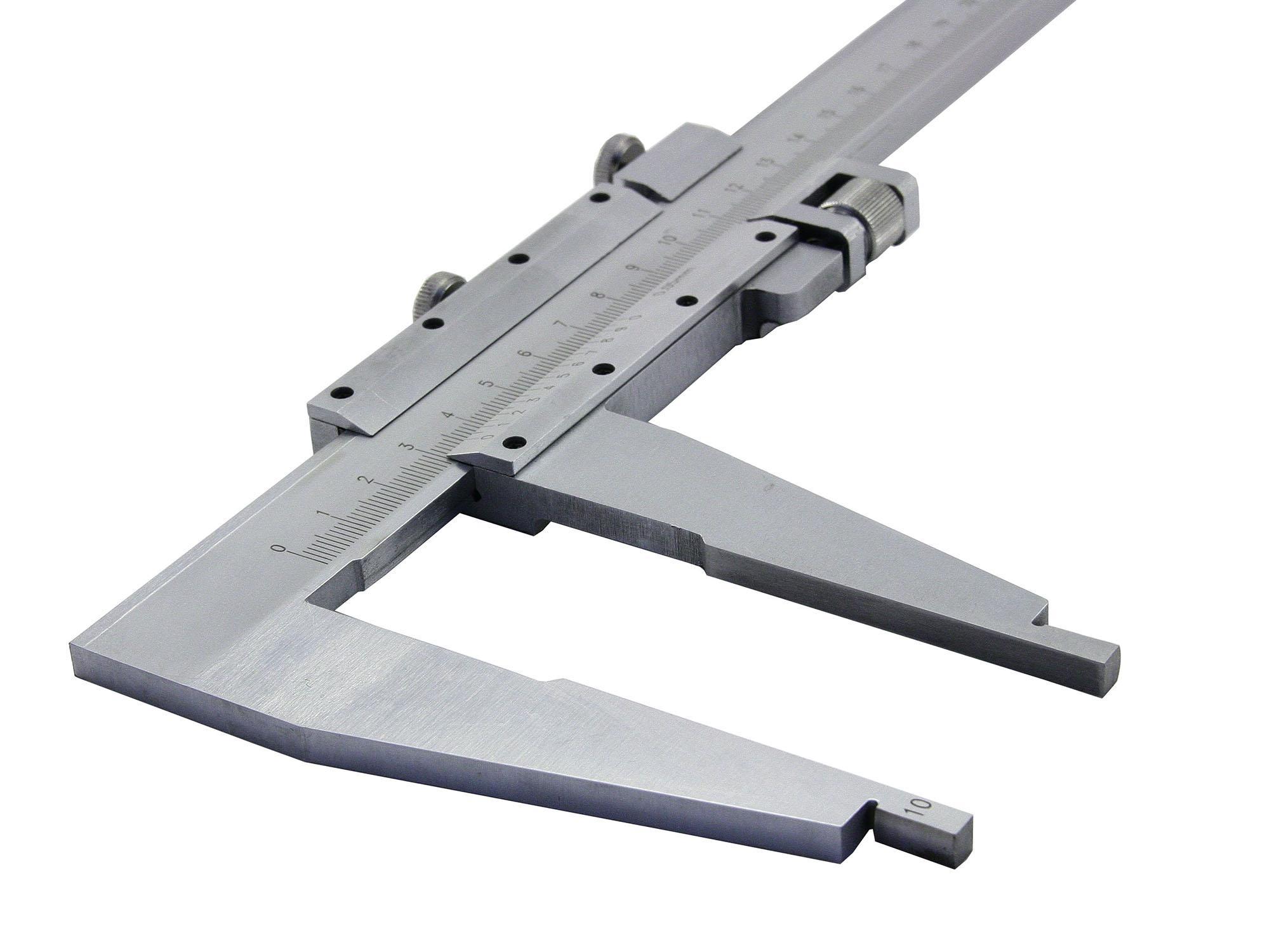 Штангенциркуль КАЛИБРОН ШЦ-iii 0-400 губ 100мм 0.1 линейка калиброн 1000х35х0 8mm 73857