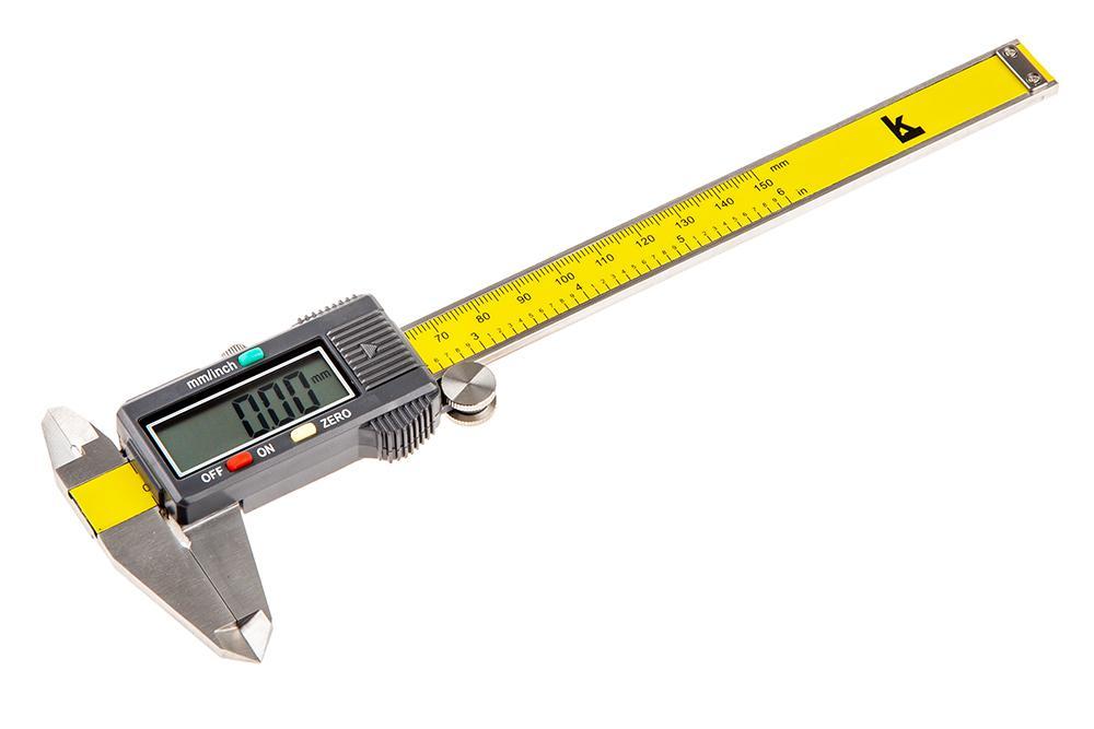 Штангенциркуль КАЛИБРОН ШЦЦ-i 0-150 0.01 штангенциркуль чиз шцц 3 500 0 01 губ 125мм