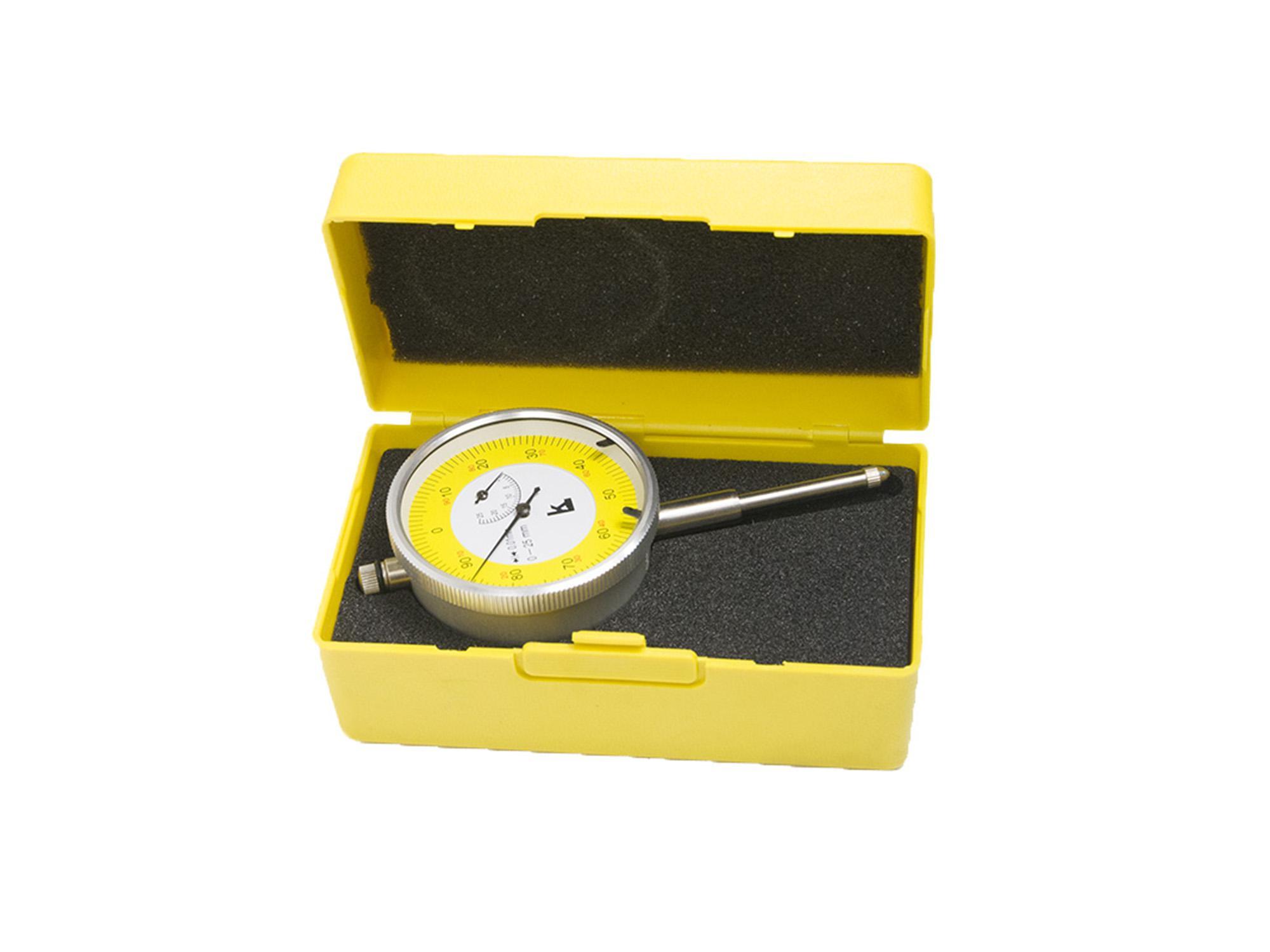 Индикатор КАЛИБРОН часового типа ИЧ 0-25 0.01 с ушком aqua капля d3 2 с ушком обмазка c винтом цв rup