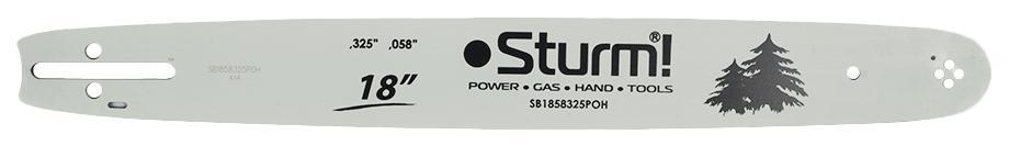 Шина цепной пилы Sturm! Sb1858325poh шина цепной пилы oregon 160sdea074ps