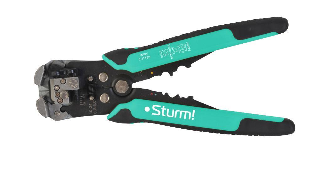 Щипцы для зачистки электропроводов Sturm! 1020-01-w210