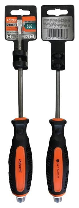 Отвертка Sturm! 1040-15-sl6-150 1pcs sl6 m5 sl6 01 sl6 02 sl6 03 sl6 04 pneumatic throttle valve quick push in 6mm tube air fitting connector flow controller