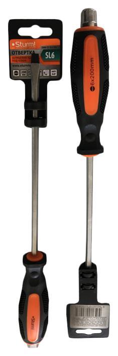 Отвертка Sturm! 1040-15-sl6-200 1pcs sl6 m5 sl6 01 sl6 02 sl6 03 sl6 04 pneumatic throttle valve quick push in 6mm tube air fitting connector flow controller