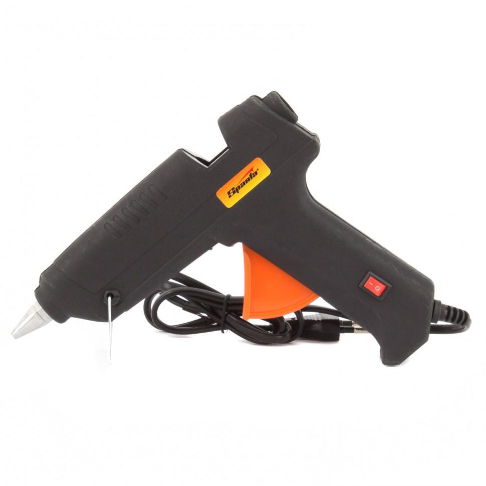 Пистолет клеевой Sparta 93033
