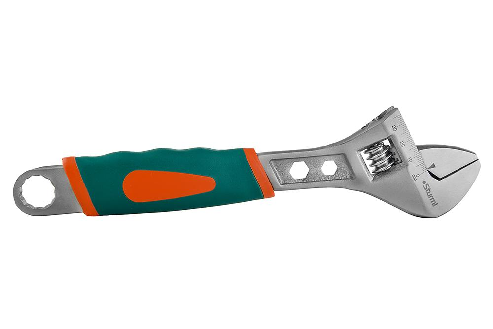 Ключ разводной Sturm! 1045-02-a250 цена в Москве и Питере