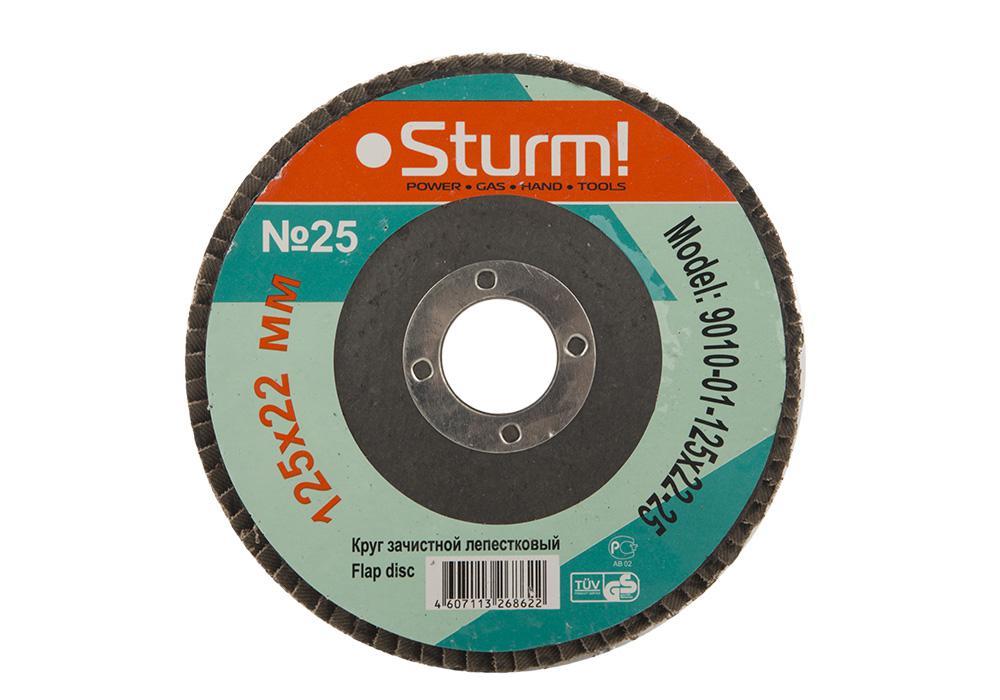 Круг Лепестковый Торцевой (КЛТ) Sturm! 9010-01-125x22-25 рубашка cinque 9010 3301 01