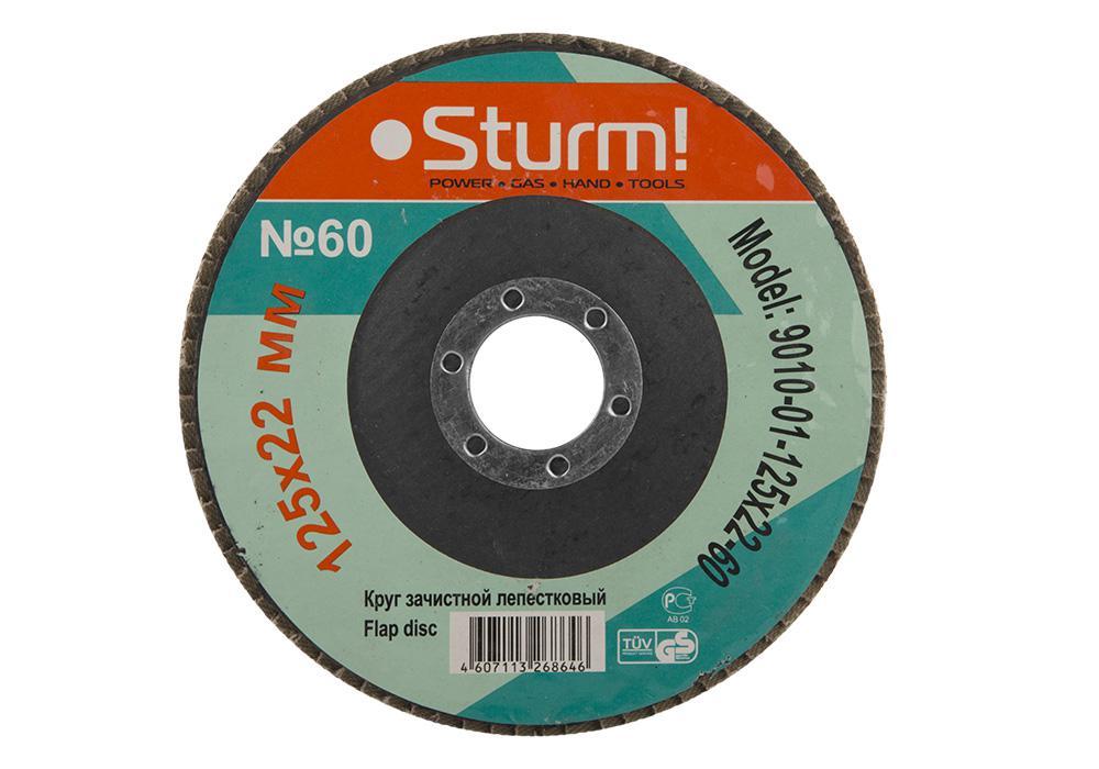 Круг Лепестковый Торцевой (КЛТ) Sturm! 9010-01-125x22-60 рубашка cinque 9010 3301 01