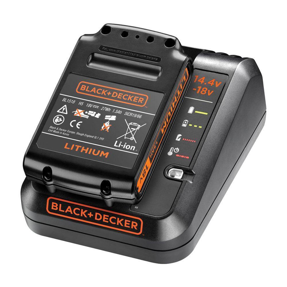 Зарядное устройство Black & decker Bdc1a15-qw