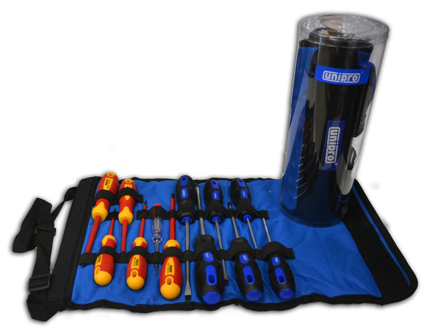 Набор отверток Unipro U-905 набор инструментов в сумке на молнии 17 предметов unipro u 780