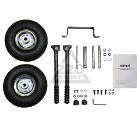 Комплект HUTER колес и ручек для бензогенератора DY8000, DY9500