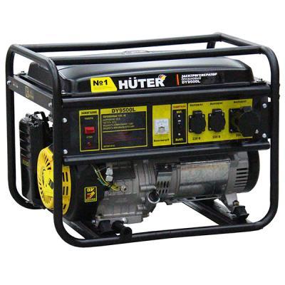 Бензиновый генератор Huter Dy9500l все цены