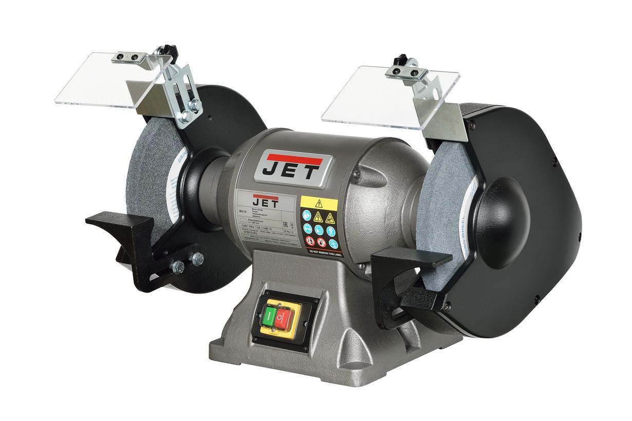 Станок шлифовальный Jet Ibg-10 578010t-ru тарельчато ленточный шлифовальный станок jet 31a 2685031 ru