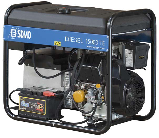 Дизельный генератор Sdmo Diesel 15000 te sdmo vx 220 7 5h s