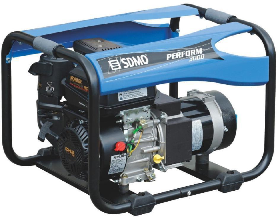Бензиновый генератор Sdmo Perform 3000 sdmo perform 7500 t