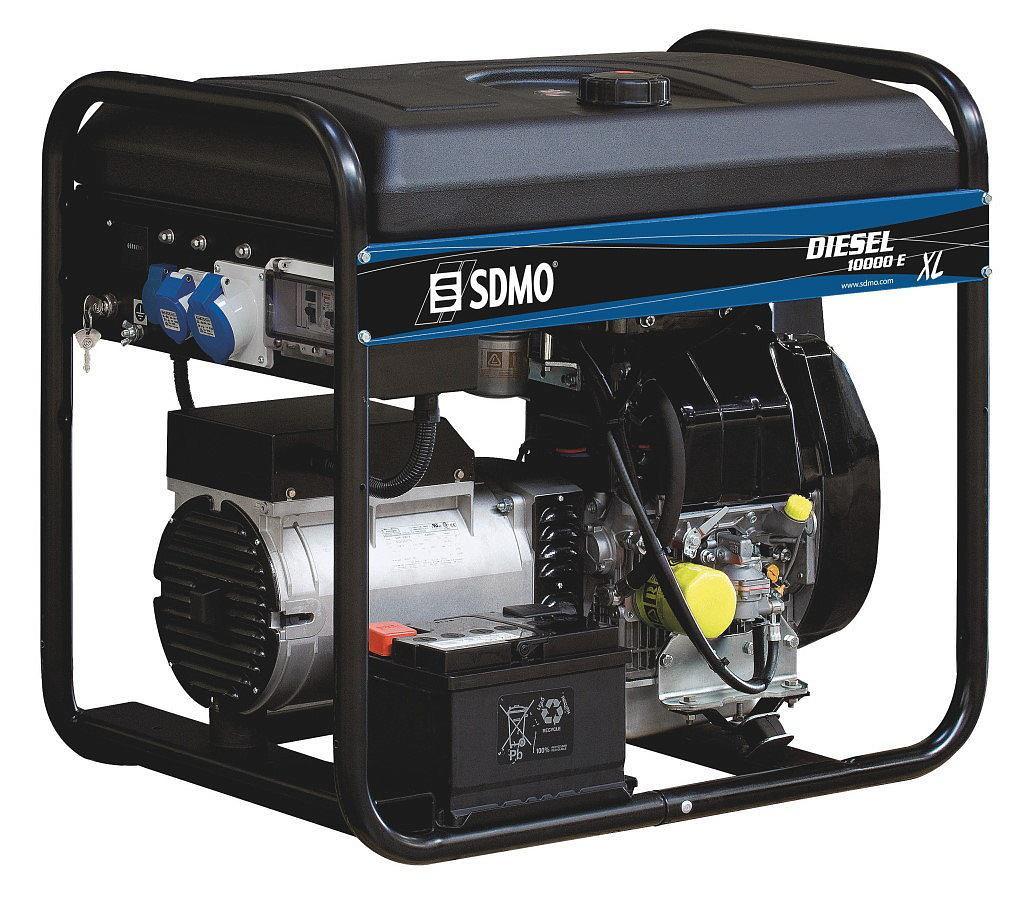 Купить Дизельный генератор Sdmo Diesel 10000 e xl c, Франция