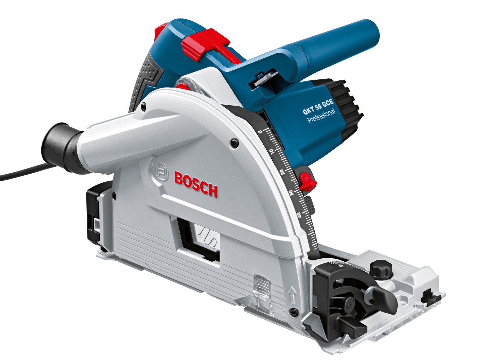 Погружная циркулярная пила Bosch Gkt 55 gce l-boxx (0.601.675.001) пила bosch gks 55 gce 0601682100