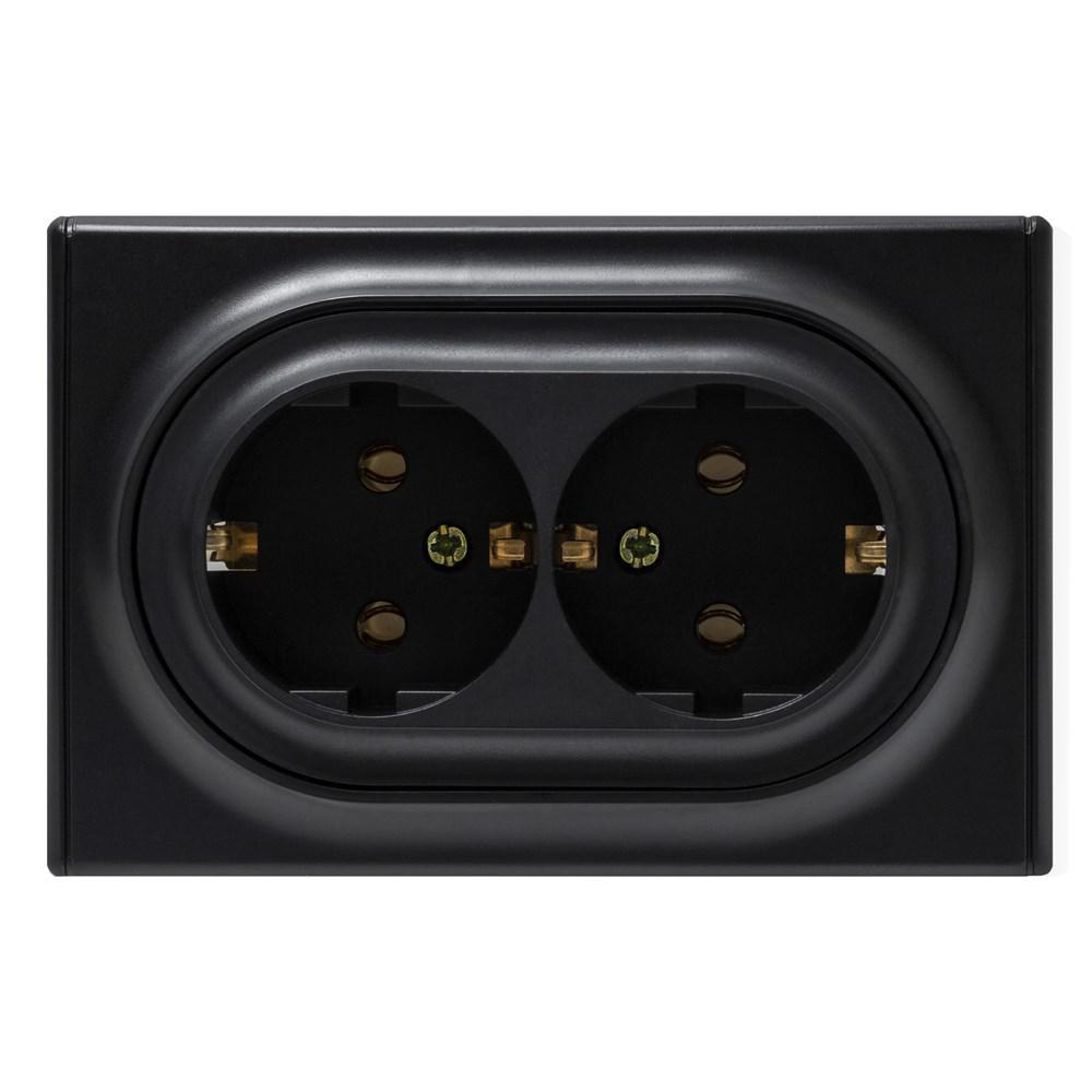 Розетка Onekeyelectro 1e10401303 телефонная розетка abb bjb basic 55 шато 1 разъем цвет черный
