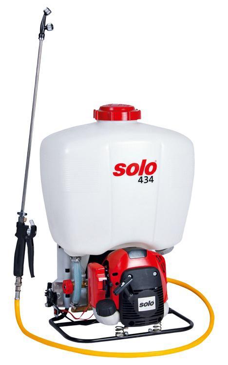 Ранцевый бензиновый опрыскиватель Solo 434