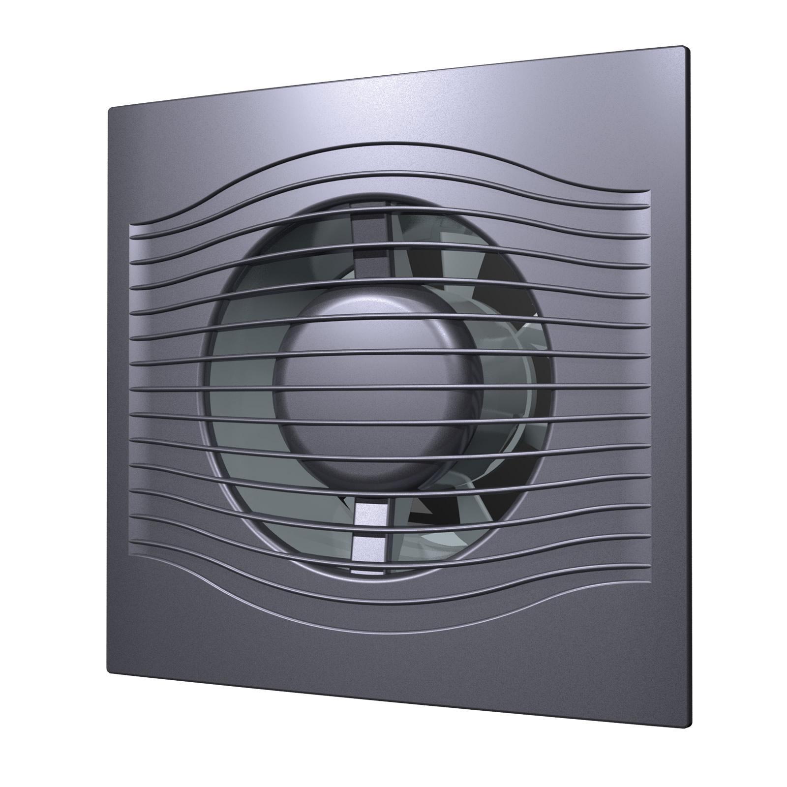 Вентилятор Diciti Slim 5c dark gray metal