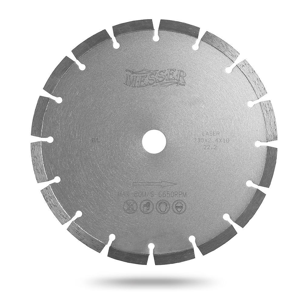 цена на Круг алмазный Messer Ф115х22мм по бетону (b/l 01-13-115)