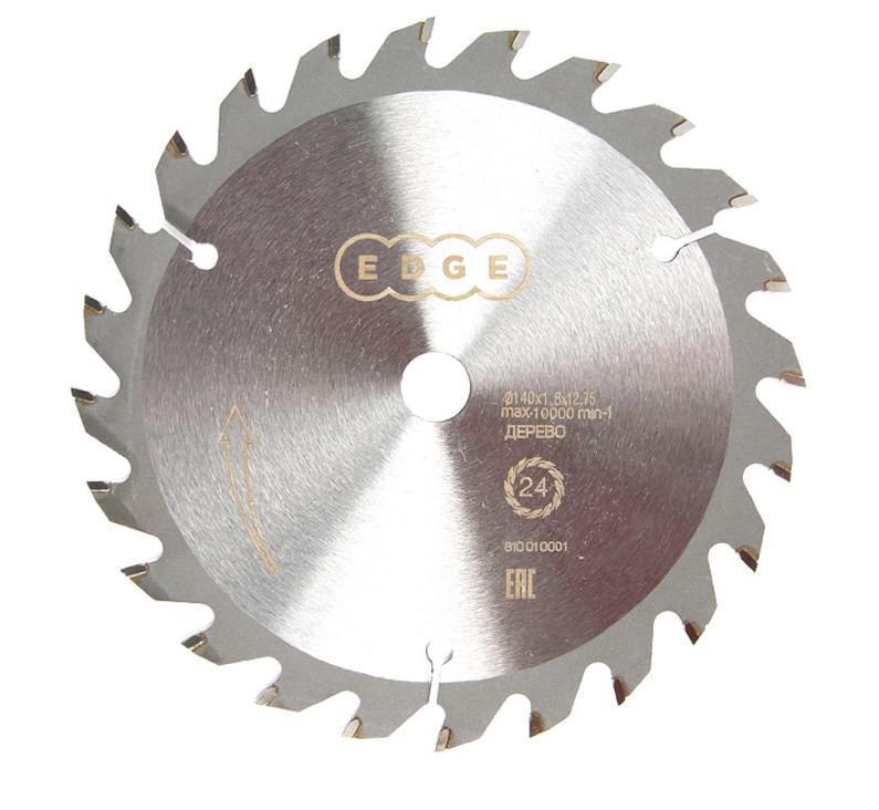 Диск пильный твердосплавный Edge 810010004 диск пильный твердосплавный malco mccb7